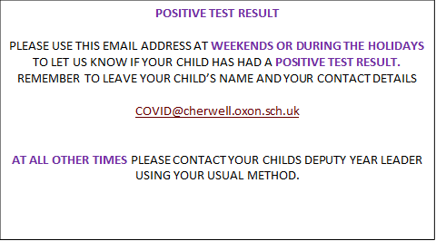 COVID Message