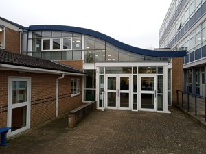 12 Entrance to 6th form centre